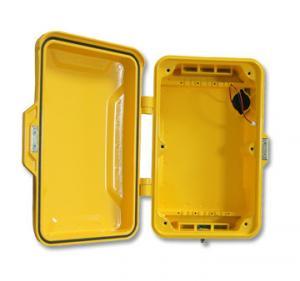 Cheap Vandal Resistant Instrument Enclosures, Weatherproof Telephone Housing for sale