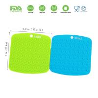 Best Silicone Trivet Mat, Hot Pads Non-Slip Silicone Insulation Mat for Home Use wholesale