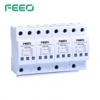 Best IP20 4P AC Surge Protector For Solar PV System wholesale