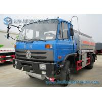 Best 170HP 4x2 Transport Oil Chemical Tanker Truck Dong Feng Vehicles wholesale