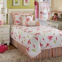 Best sheet bedding  Kaelyn-Blossom Twin Bedding Set includes: 1 Oversized comforter. 1 Bed skirt (17 inch drop). 2 Pillow shams (1 Pillow sham in twin). 2 Decorative accent pillows. DRY CLEAN ONLY. Features: 1 Bed skirt 2 Pillow shams 2 Decorative accent pillo wholesale