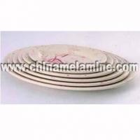 China Melamine plate/... Melamine Plate Set on sale