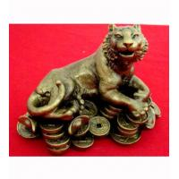 Wooden Handicraft Woodcarving Fortune Tiger