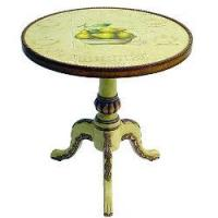 Best Hand-Painted Round Accent Table wholesale