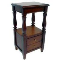 Best Two Drawers Side Table with Handcrafted Details wholesale