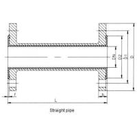 Best Fluorin lined direct pipe Lined pipe fittings--straight pipe, converging tube wholesale