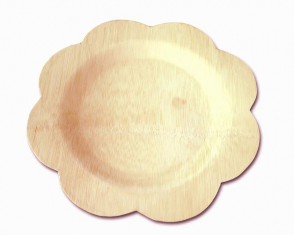 Cheap Disposable Bamboo Plates for sale