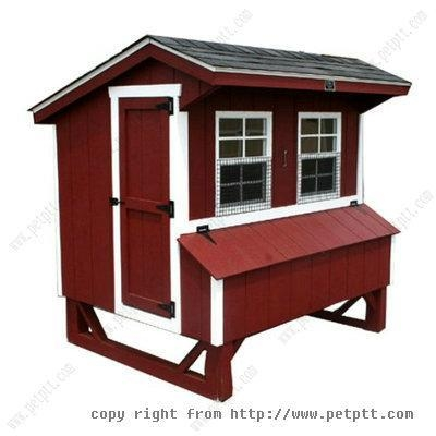 Details of chicken coop house with wheel kit red item no for Cheap chicken pens for sale
