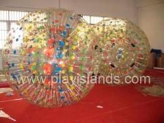 Cheap inflatable ball inflatable roller for sale