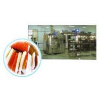 Quality MAIN SECTION OF STEAM DRUM TYPE ARITIFICIAL CRAB STICK PROCESSING LINE wholesale