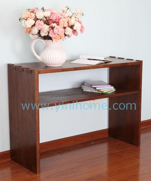 details of 2010 oak shelf product oak console table 33809223. Black Bedroom Furniture Sets. Home Design Ideas