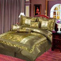 Best 7 pc embroidery comforter set wholesale
