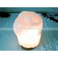 Best Crystal White Natural Salt Lamps wholesale