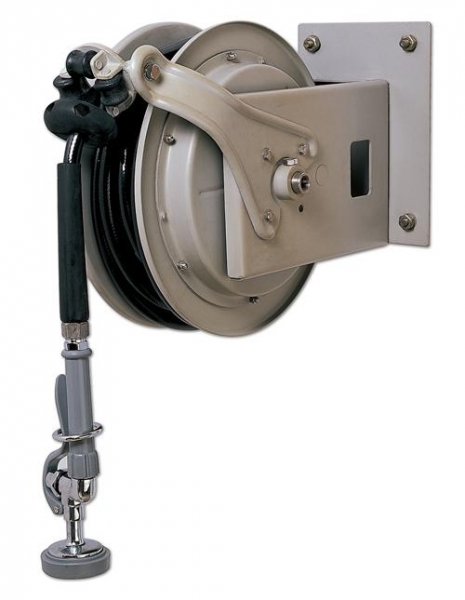 Cheap Faucets Product Wall Mounted Retractable Hose Reel for sale