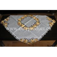 Best tablecloth with embroidery & cut work wholesale