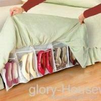 As seen on tv items shoes organizing bed skirt