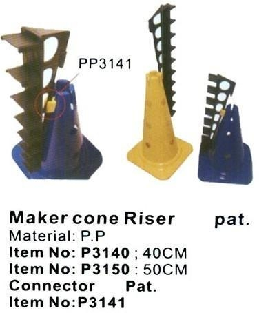 Cheap Toy, Sport toy, Safety toy, Maker Cone Riser Pat P3141 for sale
