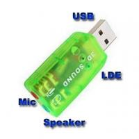 Best USB Audio 5.1 Sound card Microphone Adapter For Laptop wholesale