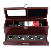 China wine box with accessories on sale
