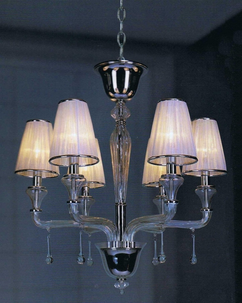 Glass Chandelier Shades Images