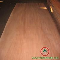 China Popular natural fancy Okoume rotary veneer on sale
