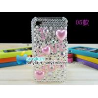 wholesale Hand-make Crystal diamond Case Cover For apple iPhone 4&4G