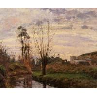 Impressionist(3830) Landscape_with_Small_Stream