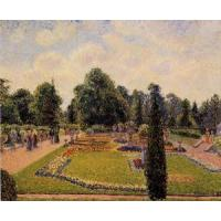 Best Impressionist(3830) Kew_Gardens_-_Path_between_the_Pond_and_the_Palm_House wholesale