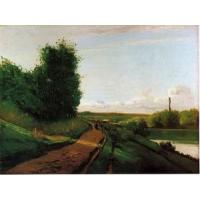 Best Impressionist(3830) The_Banks_of_the_Marne wholesale