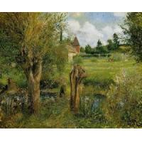 Best Impressionist(3830) The_Banks_of_the_Epte_at_Eragny wholesale