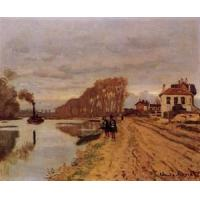 Best Impressionist(3830) Infantry_Guards_Wandering_along_the_River wholesale
