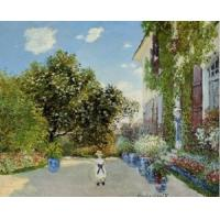Best Impressionist(3830) The_Artist-s_House_at_Argenteuil wholesale