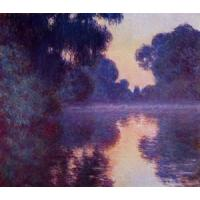 Best Impressionist(3830) Arm_of_the_Seine_near_Giverny_at_Sunrise wholesale