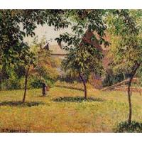 Best Impressionist(3830) The_Barn,_Morning,_Eragny wholesale