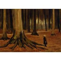 Best Impressionist(3830) A Girl in a Wood wholesale