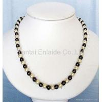 Best Hematite Magnetic Jewelry Magnetic Hematite Pearl Beads Necklace wholesale
