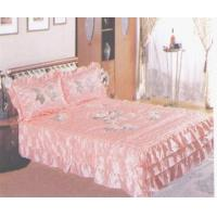 Best Bedspread set Three Dimensional Embroidered Bedspread Set wholesale