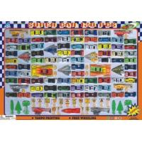 POLYBAG WITH HEADER SERIES 245827 DIE CAST  PLASTIC TOYS