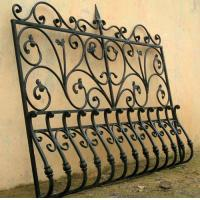 Best wrought iron window grilles wrought iron windows guards  001 wholesale
