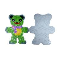 FUSION BEADS diy fashion Bead Teddy Bear Pegboard diy toys
