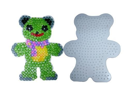 Cheap FUSION BEADS diy fashion Bead Teddy Bear Pegboard diy toys for sale