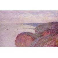 Impressionist(3830) On_the_Cliff_near_Dieppe,_Overcast_Skies