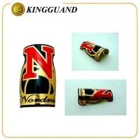 Best Custom Attractive special shape red Adhesive dirt bike body sticker wholesale