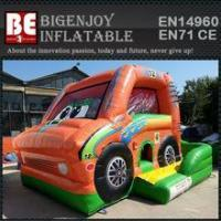 Best car inflatable combo bouncer slide bouncer wholesale