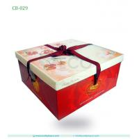 Best Cardboard Cake Packaging Box In Food Grade With Ribbon wholesale