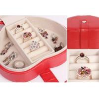 China Leather Case leather jewellery box onlin Jewelry Case THD-07 on sale