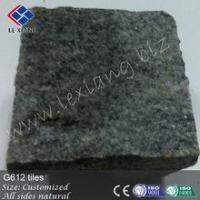 Quality G612 blue natural stone cube wholesale