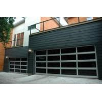 Quality Remote Control Finger Protect Overhead Aluminum Sectional Glass Garage Door wholesale