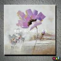 Best New Style Abstract Flower Oil Painting of Poppy Flower wholesale