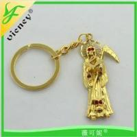 Best Promotion Product Customer Gold Madonna Style Key chain wholesale